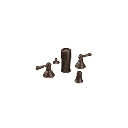 Kingsley 2 Handle Bidet Faucet Trim (Trim Only) - Oil Rubbed Bronze Finish