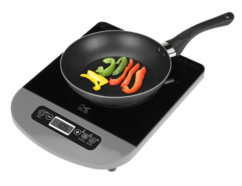Silver Induction Cooking Plate