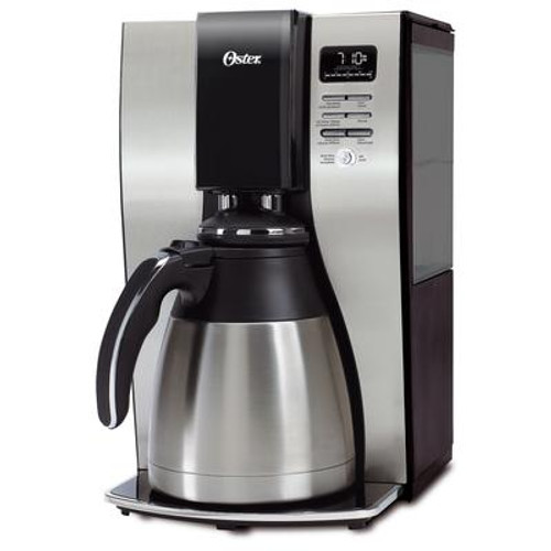 10-Cup Stainless Steel Thermal Coffee Maker