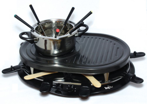 TCRF08BN Total Chef Raclette Fondue