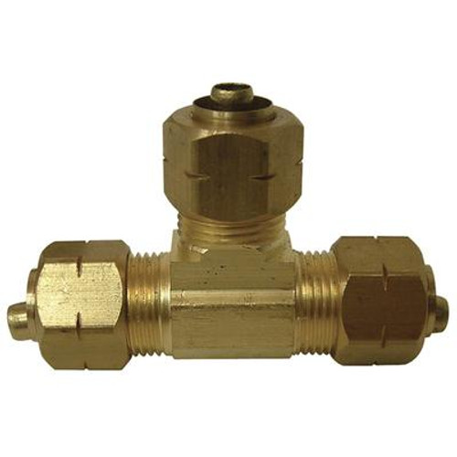Brass Compression Cap less insert (3/8 Inches)