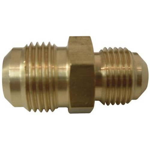 Brass Flare to Flare Reducing Union (1/2 x 3/8)