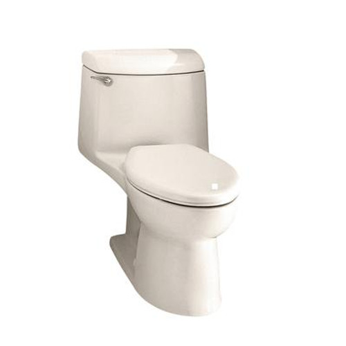 Champion 4 One Piece 1.59 Gal. GPF Elongated Toilet in Linen