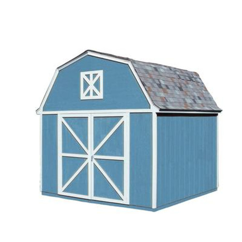 Berkley  Storage Building Kit with Floor -  (10 Ft. x 10 Ft.)