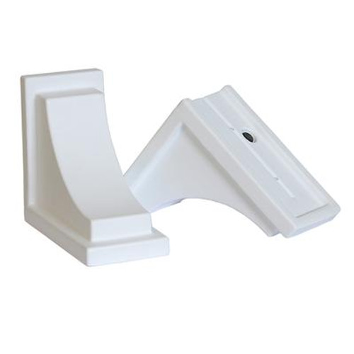 Nantucket Decorative Brackets White - 2 Pack