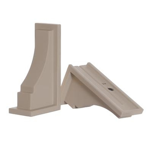 Fairfield Decorative Supports Clay - 2 Pack