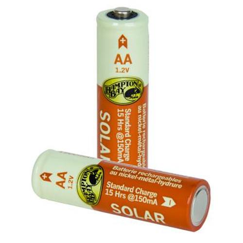 4-Pack 1500mAh Nickel-Metal Hydride Rechargeable Batteries