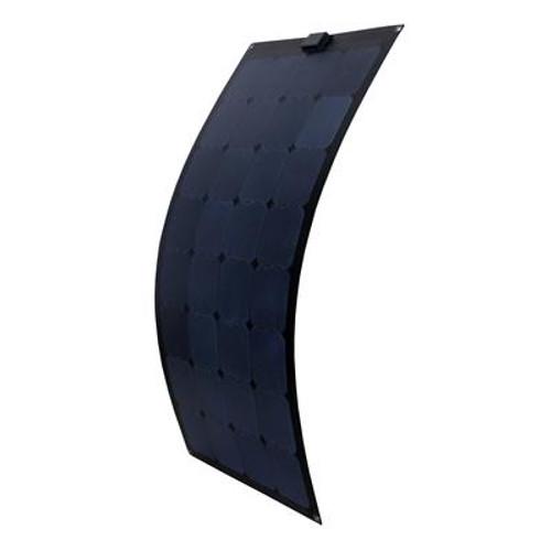 100-Watt Semi-Flex Monocrystalline Solar Panel for 12-Volt Charging