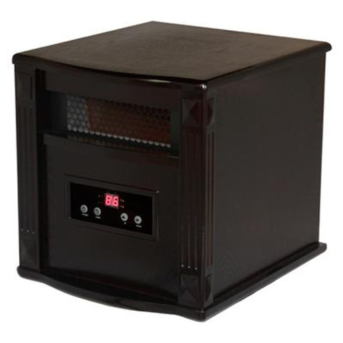 Comfort Furnace Gold Portable Infrared Heater  - Espresso