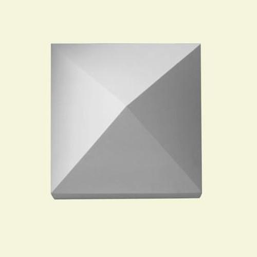 1-1/2 Inch x 12-1/2 Inch x 12-1/2 Inch Polyurethane Post Peaked-Top Newel