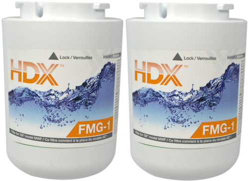 FMG-1 Refrigerator Replacement Filter Fits GE MWF (2 Pack)