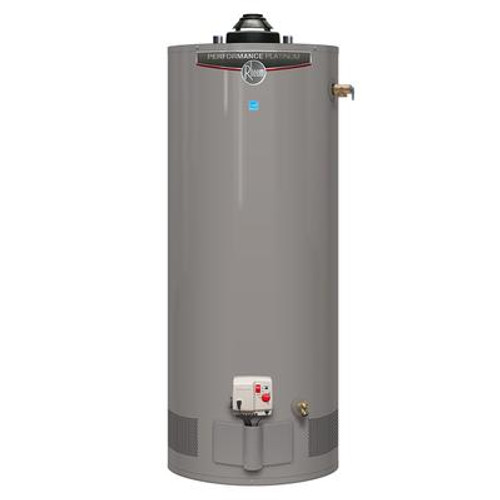 Rheem Performance Platinum 40 Gallon Gas Water Heater with 12 Year Warranty
