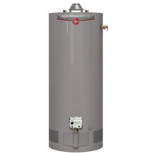 Rheem Performance Plus 50 Gallon Gas Water Heater with 9 Year Warranty (Approved for BC Market)
