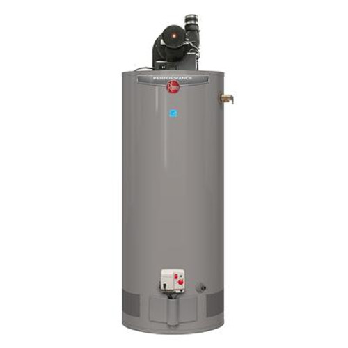 Rheem Performance Power Vent 50 Gallon Gas Water Heater with 6 Year Warranty