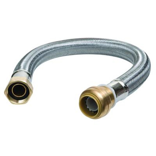 18 in. Water Heater Connector 1/2 in.