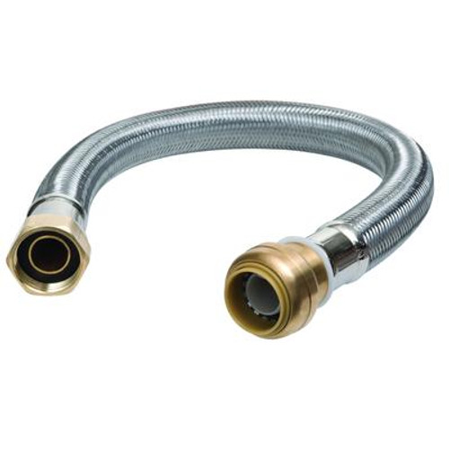 12 in. Water Heater Connector 1/2 in.