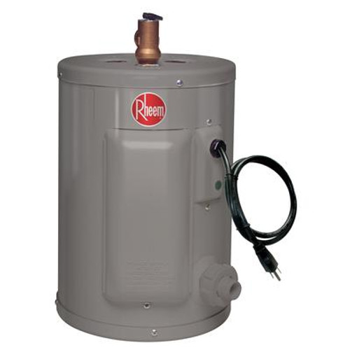 Rheem Point of Use 2 Gallon Electric Water Heater with 6 Year Warranty.