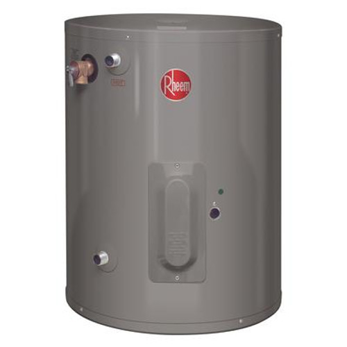Rheem Point of Use 30 Gallon Electric Water Heater with 6 Year Warranty.