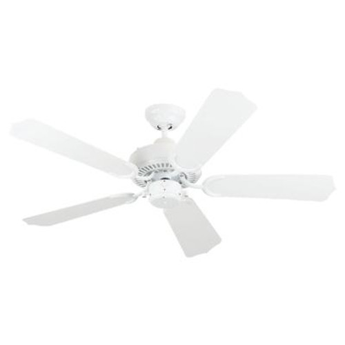 42 Inch Indoor/Outdoor White Ceiling Fan