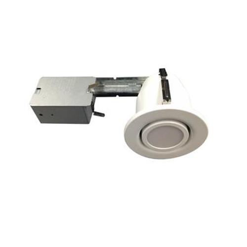 3 1/4 Inch. White Recessed LED Gimbal  Kit