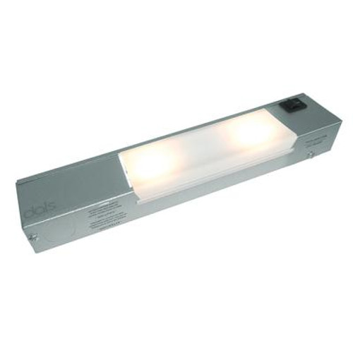 2-Light LED Satin Painted Linear Dimmable Light