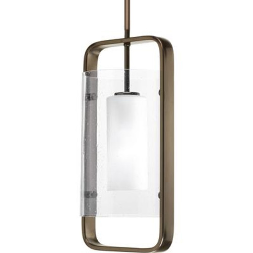 Coupe Collection 1 Light Venetian Bronze Hanging Lantern