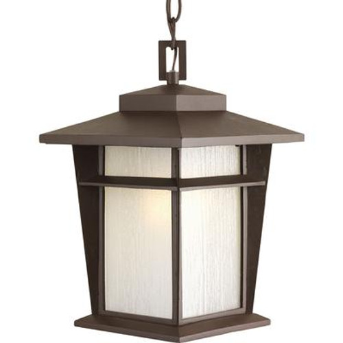 Loyal Collection 1-light Antique Bronze Hanging Lantern