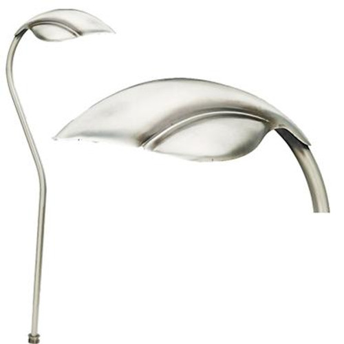 1-Light Path Light Stainless Steel Finish