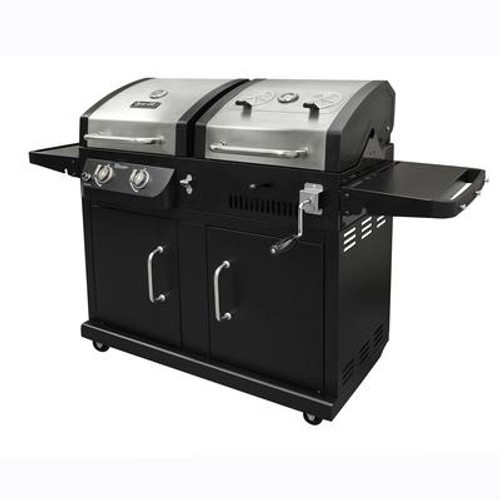 Dyna-Glo Premium Duel Fuel Grill For Use With Lp Gas And Charcoal