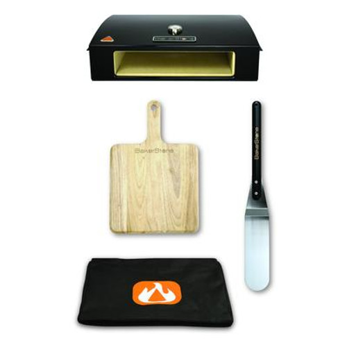 BakerStone Pizza Oven Box Kit (includes wood pizza peel and pizza turner/spatula)