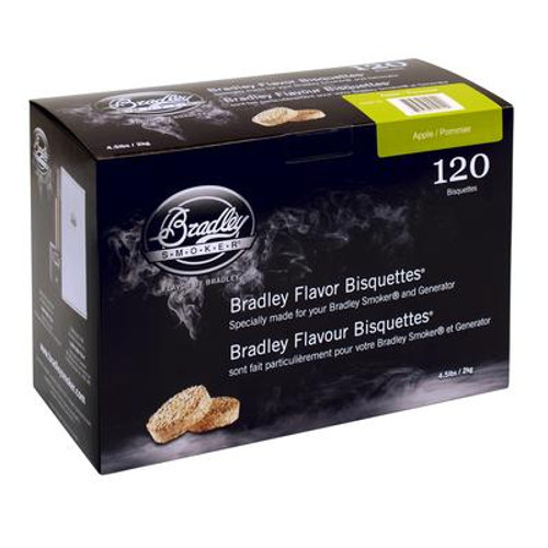 Apple Smoking Bisquettes 120 Pack