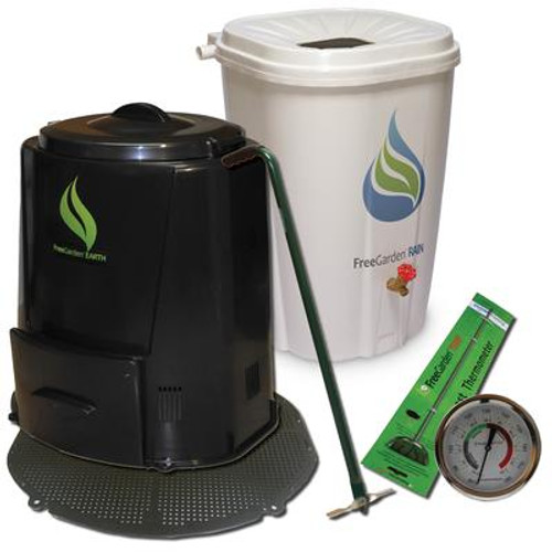 Earth Package with composter base
