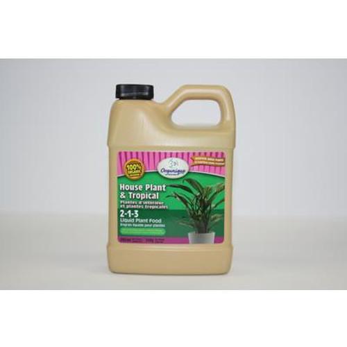 House Plant and Tropical Liquid Fertilizer 2-1-3