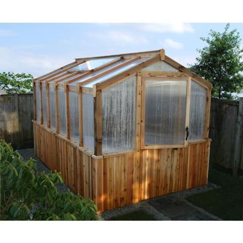 Cedar Greenhouse - 8 Feet x 12 Feet