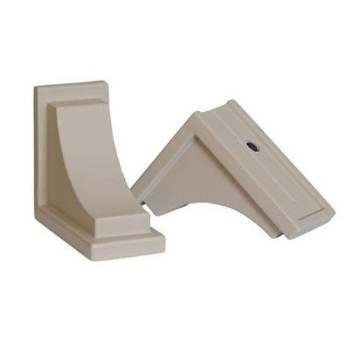 Nantucket Decorative Brackets Clay - 2 Pack