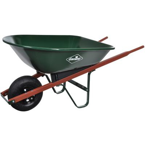 5 Cu. Ft. Steel Wheelbarrow