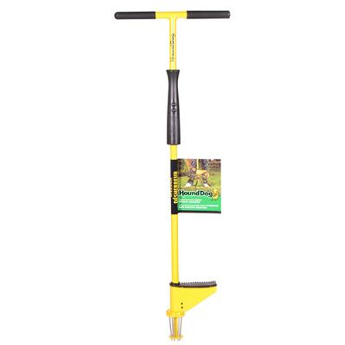 Hound Dog's One-Piece Steel T-Top Handled Weeder with Slide Ejector