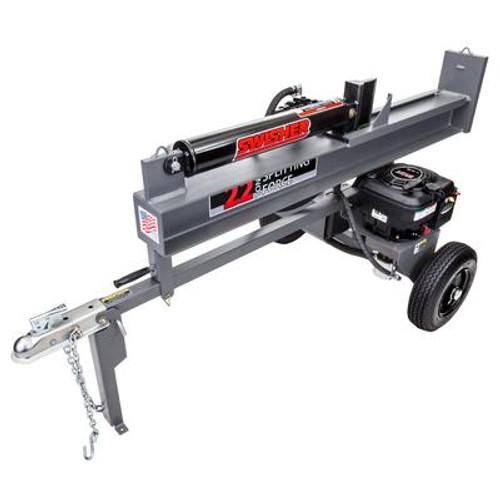 6.75 HP Swisher 22 Ton Log Splitter
