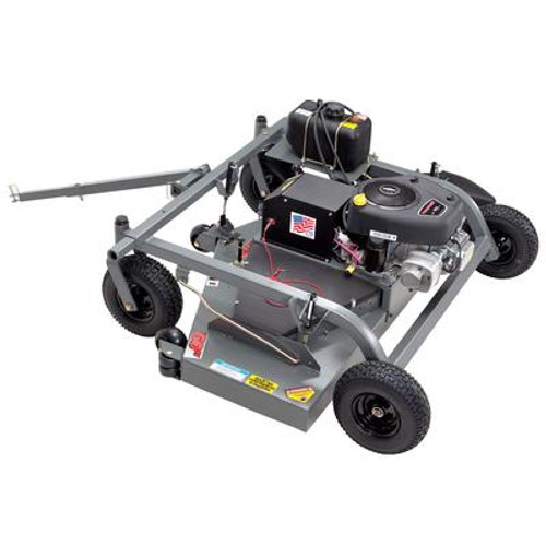 14.5 HP Swisher Tow Behind Grass Mower With 60 Inch. Cutting Deck