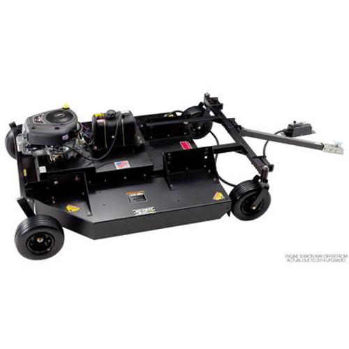17.5 HP Swisher Tow Behind Trail cutter/Bush Hog with 52 inch  Cutting Deck