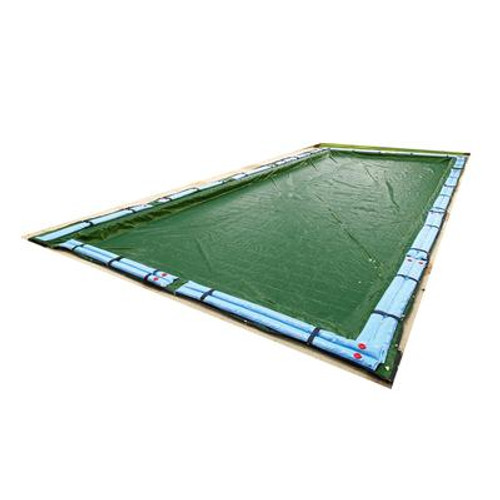 12-Year 30 Feet  x 50 Feet  Rectangular In Ground Pool Winter Cover