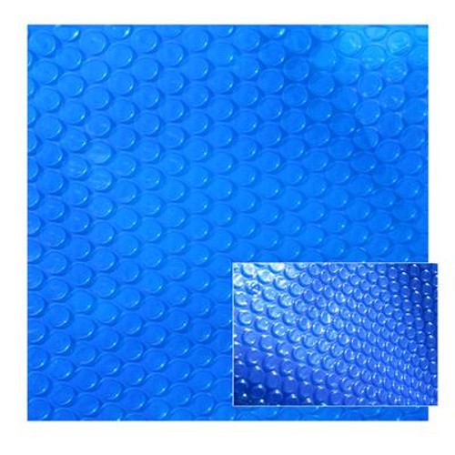 12-Feet x 20-Feet Rectangular 12-mil Solar Blanket for In Ground Pools - Blue