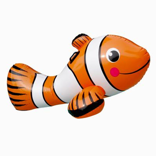 Clown Fish 67Inch Inflatable Ride-On Pool Toy