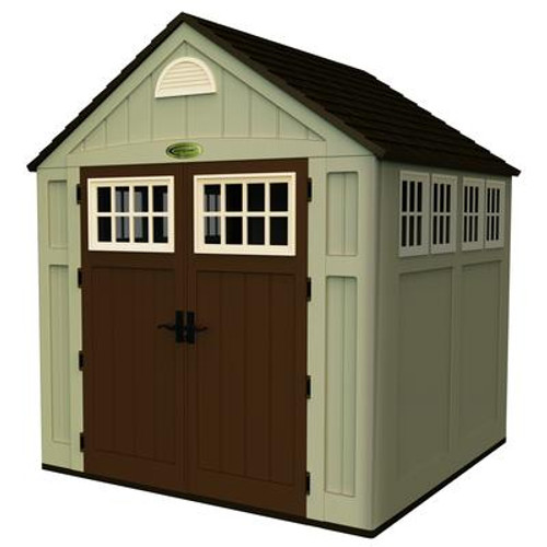 Blow Molded Storage Shed - (7 Ft. x 7 Ft.)