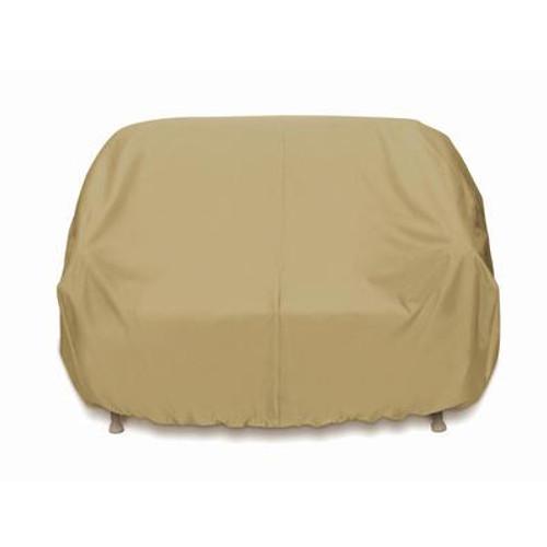 3-Seat Sofa Cover - Khaki