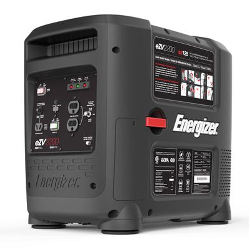 Energizer EZV2200: 2200 Watt Portable Gas Powered Inverter Generator