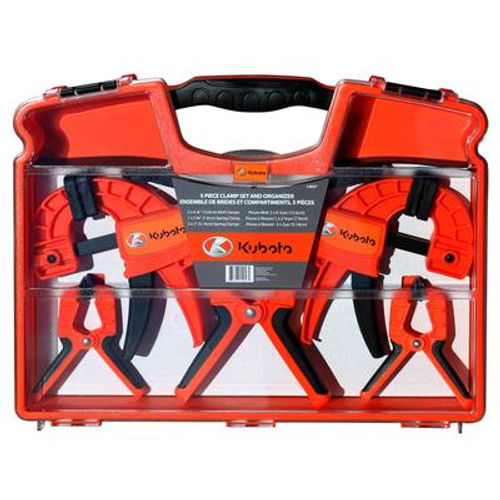5 pc Clamp Set
