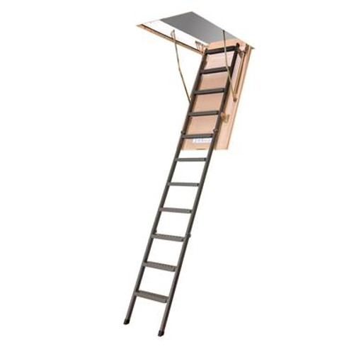 Attic Ladder (Metal insulated) LMS 30x54 350 lbs 10 ft 1 in