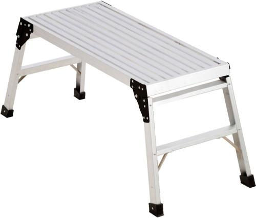 48 Inch x 17 Inch x 8 Inch Pro Deck Aluminum Work Platform