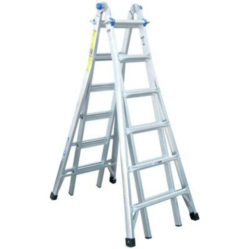 Aluminum Telescoping Multi-Purpose Ladder Grade 1A (300# Load Capacity)- 26 Feet